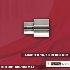 Adapter reduktor 16/19 chrom mat