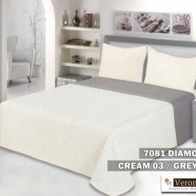 Narzuta 7081 DIAMOND cream-grey 170x210 OR