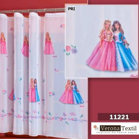 Firana na woalu BARBIE PRINCESS 160 cm