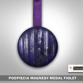 Magnes Medal Fioletowy